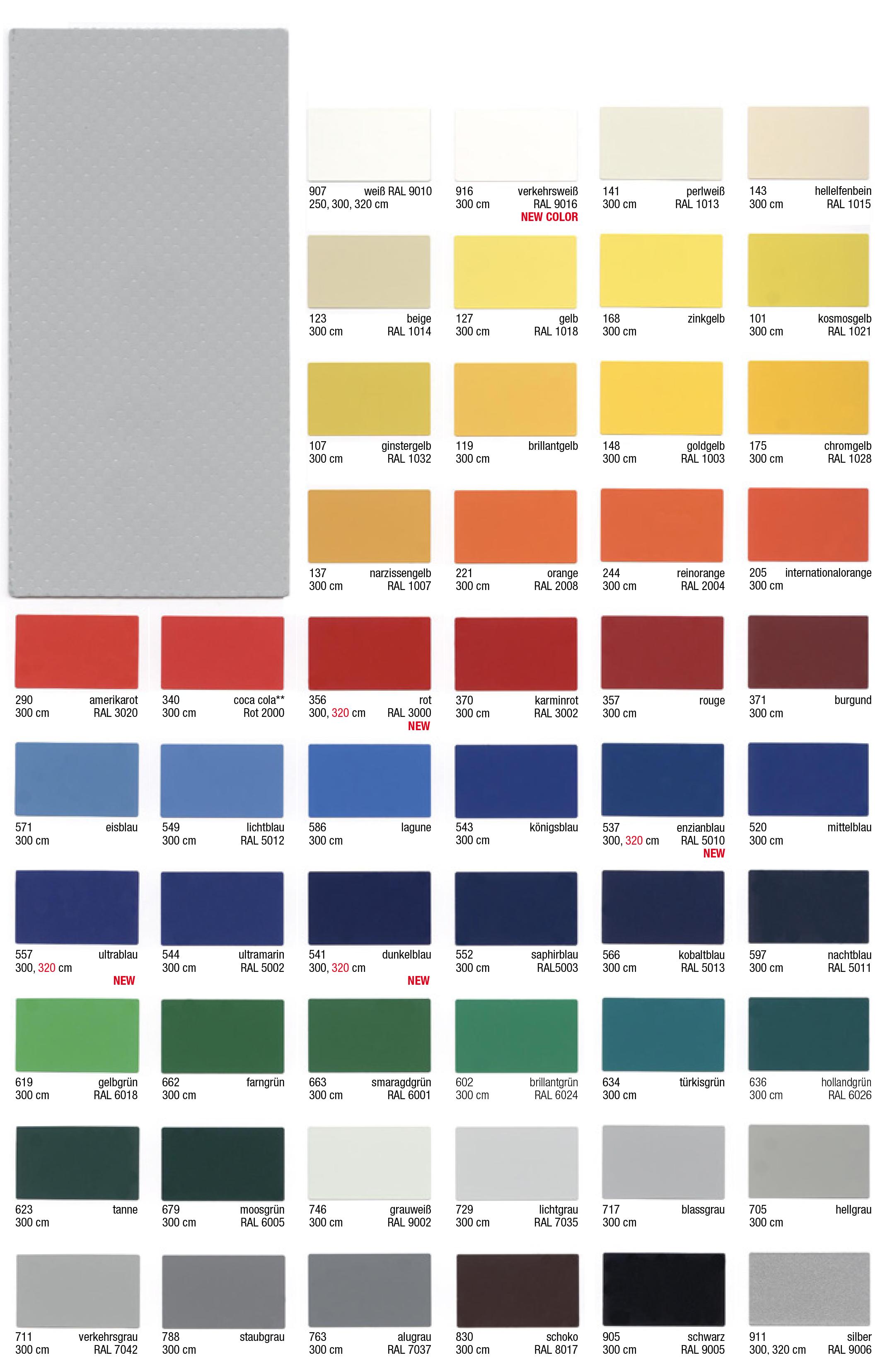 Värvikaardid 900g/m2